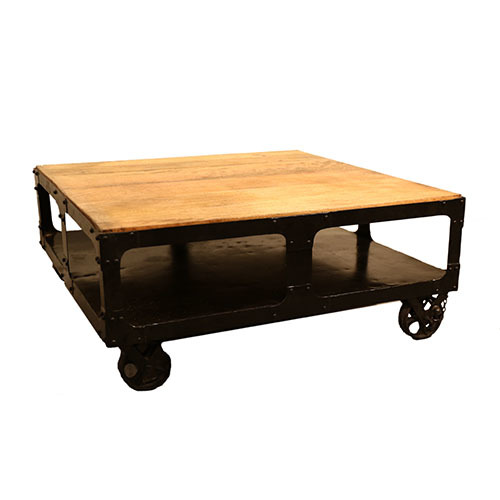 industrial coffe table