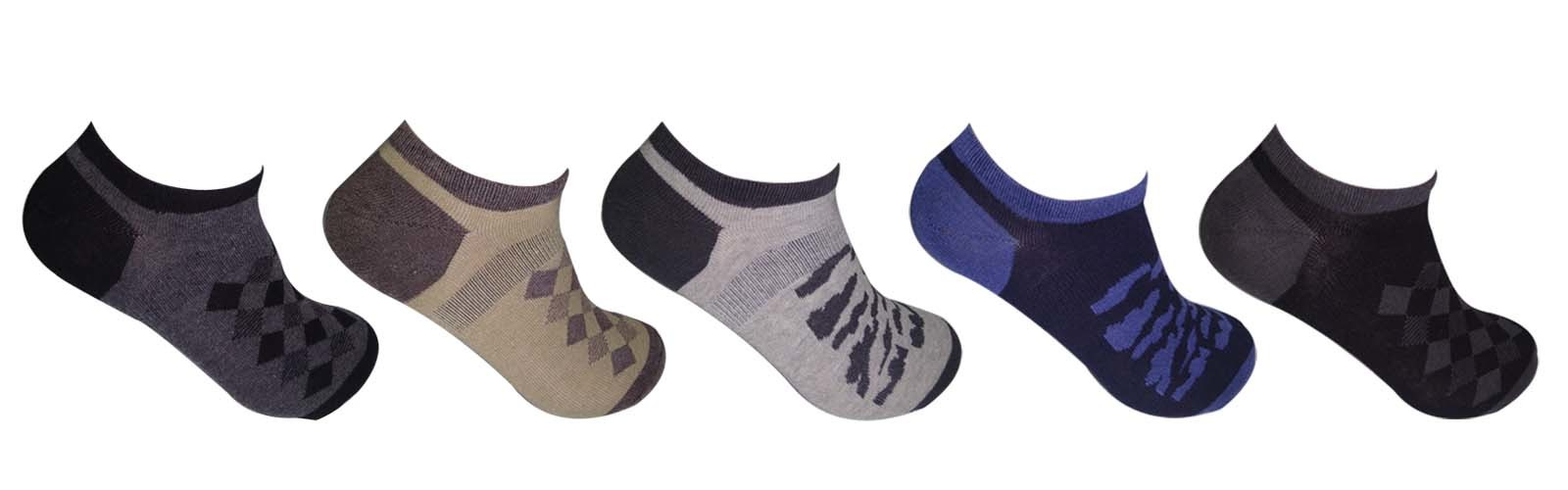 SNEAKERS SOLID LOAFER SOCKS