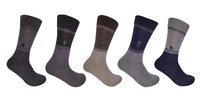 CALF LENGTH HAVING 2 COLORS FORMAL SOCKS