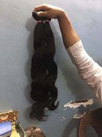 Unprocessed body wavy hair