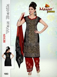 Pure Reyon Wax batik Dress