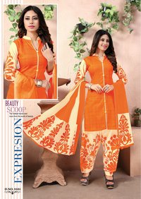 Fancy Cotton Salwar Kameez