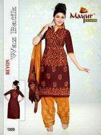 Fancy Reyon Wax Batik Dress