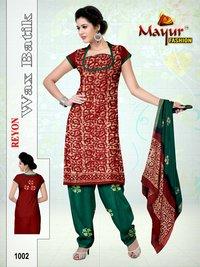 Reyon Wax BAtik Dress Wholesale
