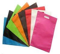 Multi-colour D Cut Bag
