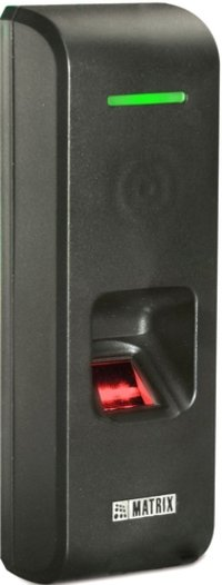 Fingerprint and EM Proximity Card based Door Controller