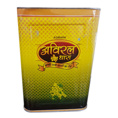 Printed Oil Tin Container