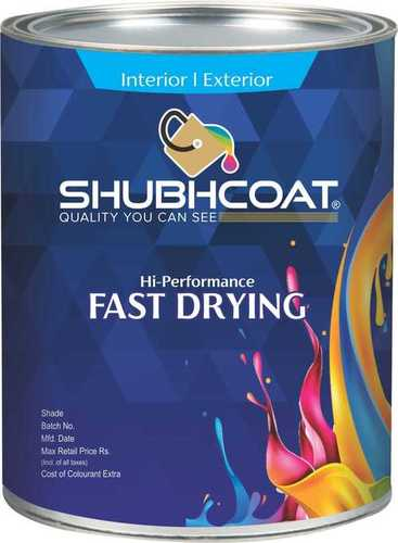 FAST DRYING PAINTS