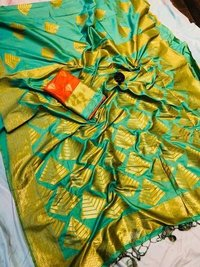 Ethnic Banarasi Art Silk Soft Saree