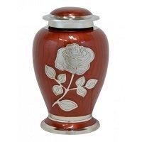 Beautiful Cashmere Red Rose Urn