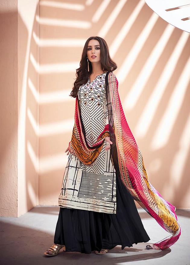 Charming Pure zam silk khatli handwork Salwar Suit
