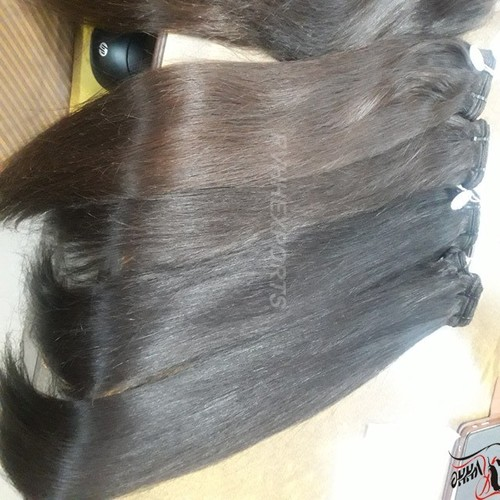 Wholesale Natural Silky Straight Indian Temple Hair Cuticle Aligned