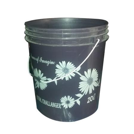 HDPE Black Bucket