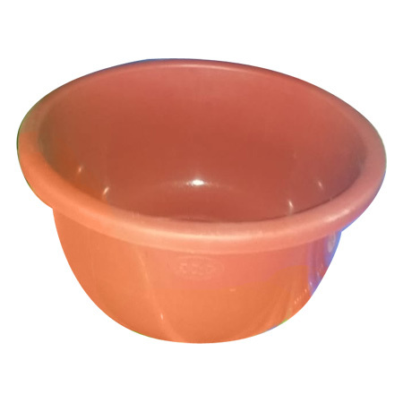 Colored Plastic Tub