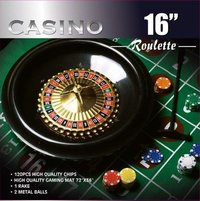 Casino Roulette Poker Game Chip Set