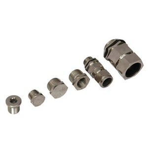 Flameproof Double Compressor Cable Glands