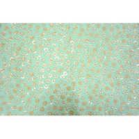 Mulberry Silk Sequence Thread Work Fabric
