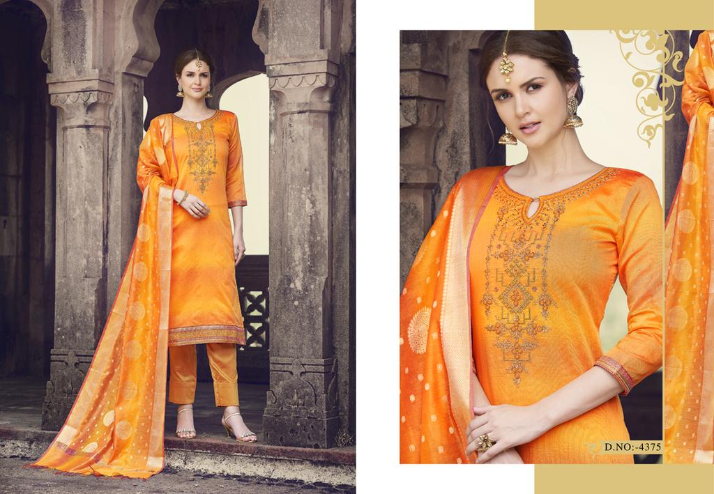 Chanderi Fabric Suits