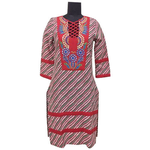 Designer Neck Ladies Kurti