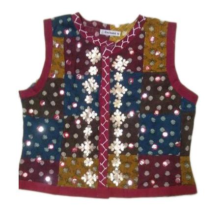Embroidered Ladies Koti Jacket