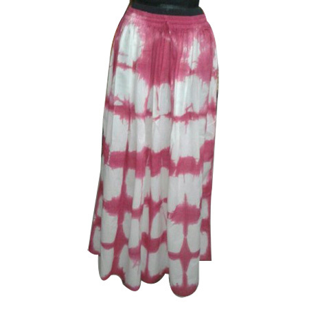 Tie Dye Ladies Skirt