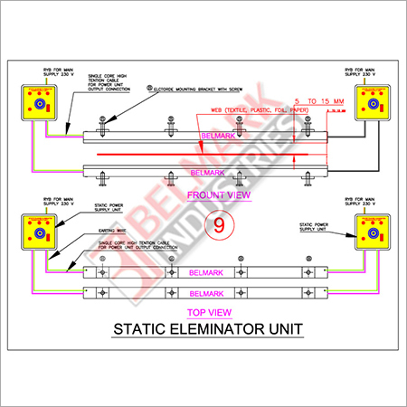 Static Eliminator Drawings
