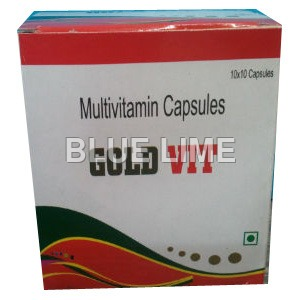Gold Vit Multivitamin Capsules