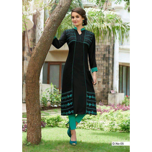 Ladies Khadi Long Kurti
