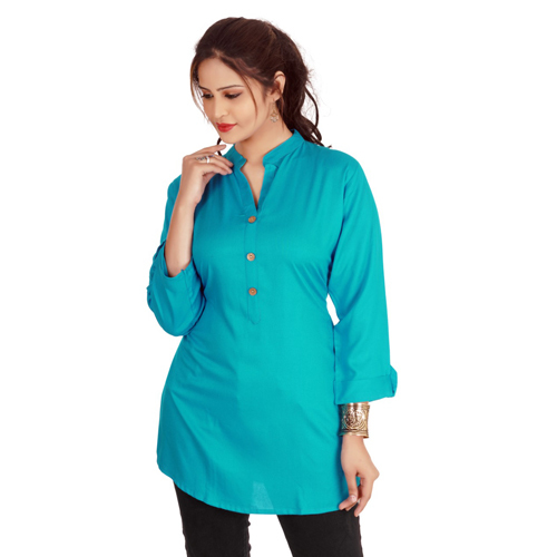Collar Neck Short Kurti
