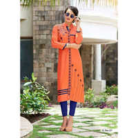 Ladies Georgette Long Kurti