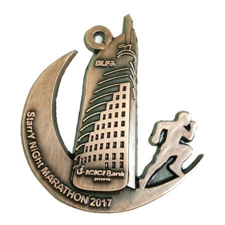 Night Marathon Medal
