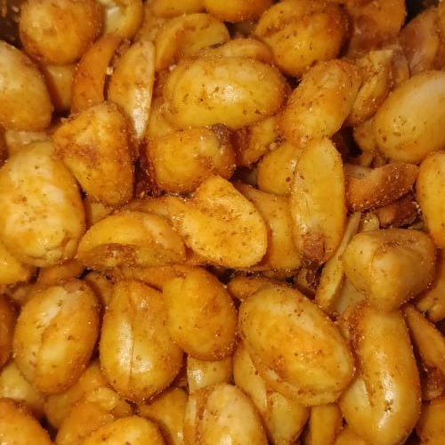 Red Pepper Masala Peanuts