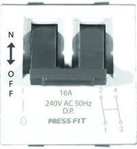 16A Double Pole MCB Switch