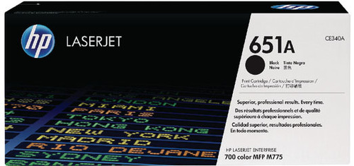 HP CE340 BLACK TONER CARTRIDGE