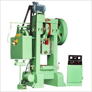 H-Frame Power Press with Pneumatic Clutch