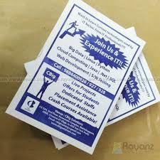 Offset Printed Pamphlet