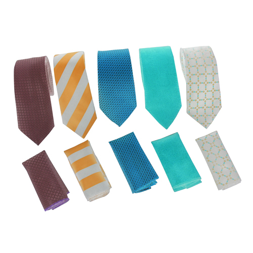 Mens Tie With Pocket Square