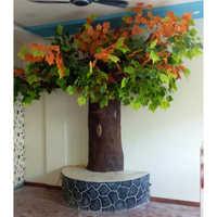 Fiber Tree Statue