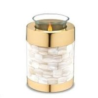 Brass Urn / Bras Candle Light Urn
