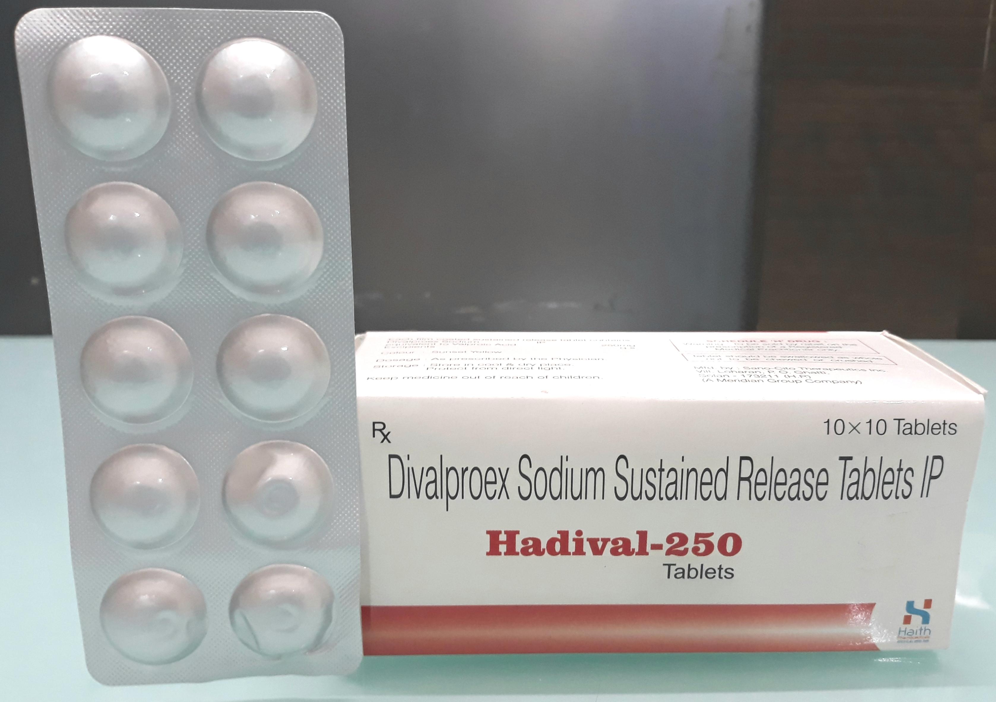 Divalproex 500 Tablet