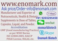 Nutraceuticals manufacturer