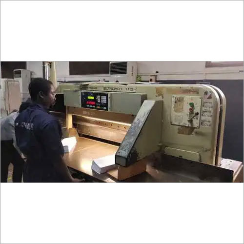 Paper Cutting Machine Program