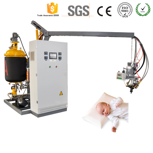 Low Pressure Polyurethane PU Injection machine For Baby Resting Cushion Memory Foam Pillow