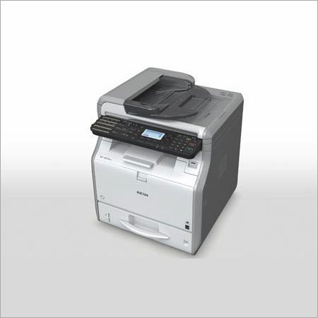 Black White Multifunction Printer