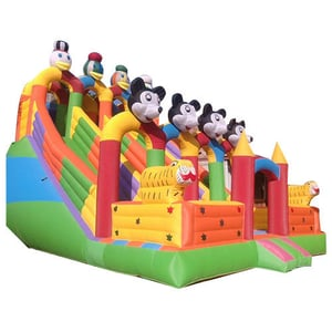 Inflatable Jumping Balloon Bouncy Slide