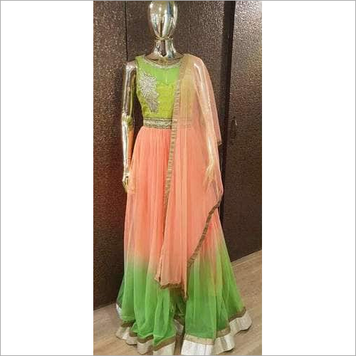 Ladies Fabric Gown