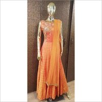 Ladies Zari Zardozi Gown