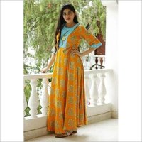 Ladies Embroidered Printed Kurti