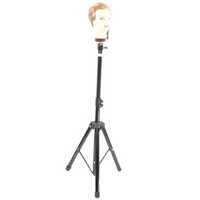 Hairdressing Adjustable Mannequin Head Tripod Stand