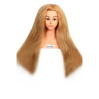 28 Inch Long Hair Dummy Head